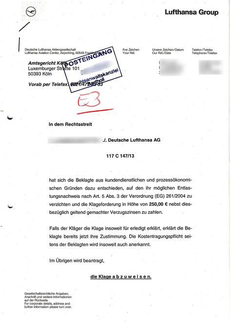 Musterbrief Beschwerde Hotel Muss Lufthansa Entsch 228 Digung Taxi Hotel Und