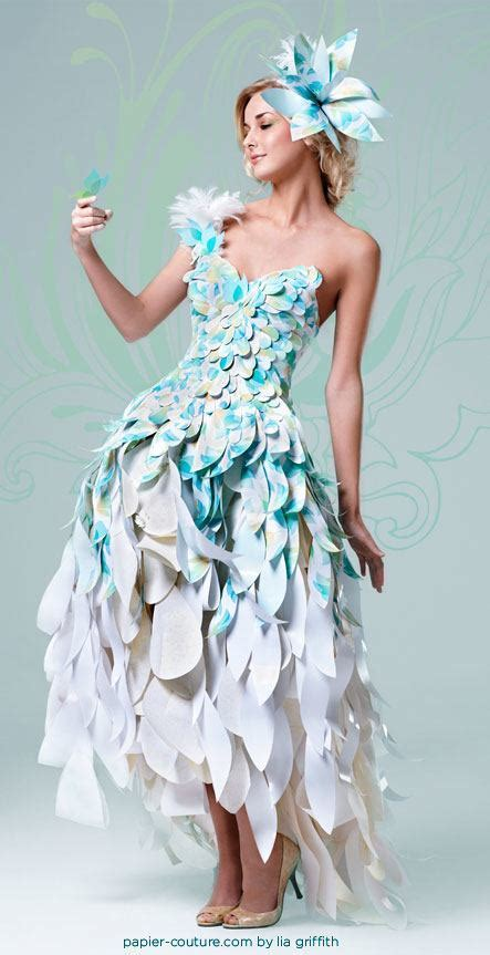 Clothes Out Of Paper - 26 amazing paper dresses collection and ideas