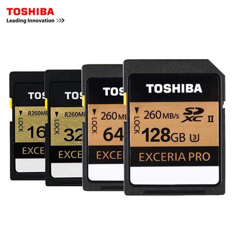 Sd Card Sdhc 32 Gb Uhs Ii U3 280 Mb S Hyper Evo V Dd224 aliexpress buy toshiba u3 sd memory card uhs ii 16gb 260mbs 32gb sdhc card sd 64gb sdxc