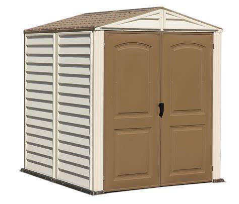 6 X 6 Sheds Clearance Duramax 6 X 6 Vinyl Retardant Shed With A