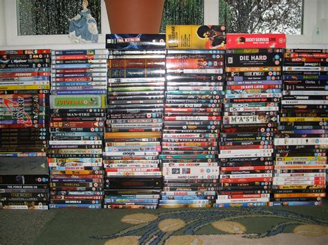 dvd collection well it seemed about time i updated the