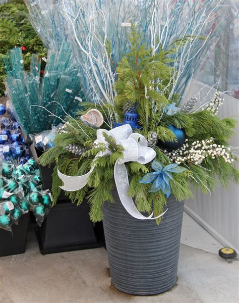 blue outdoor decorations 34 best images about outdoor planters on