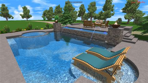 beautiful swimming pools beautiful swimming pool and spa design ideas interior