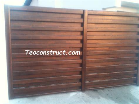 din lemn modele porti din lemn foisoare din lemn garduri din