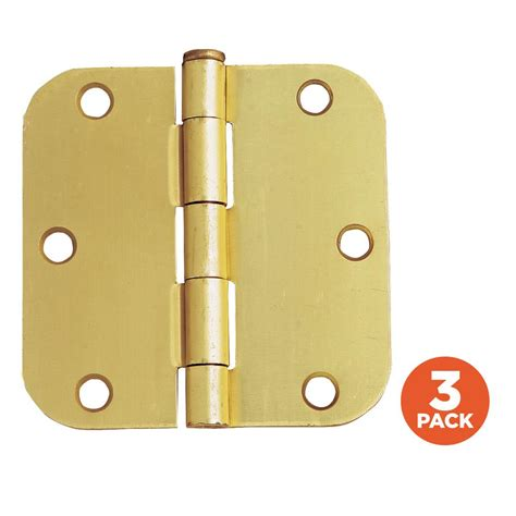 design house brand door hardware design house 3 1 2 in x 5 8 in radius satin brass door