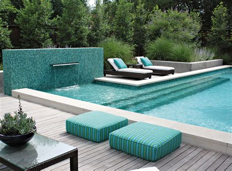 Pool Tanning Chairs Design Ideas 20 Pool Seating Area With Cushions Home Design Lover