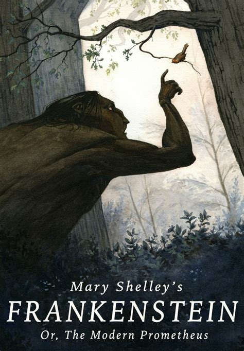 character analysis of frankenstein by mary shelley book cover illustration for mary shelley s frankenstein