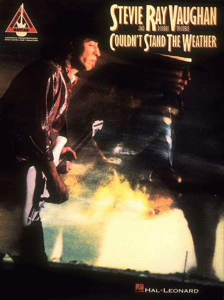 couldnt stand  weather sheet   stevie ray vaughan sheet