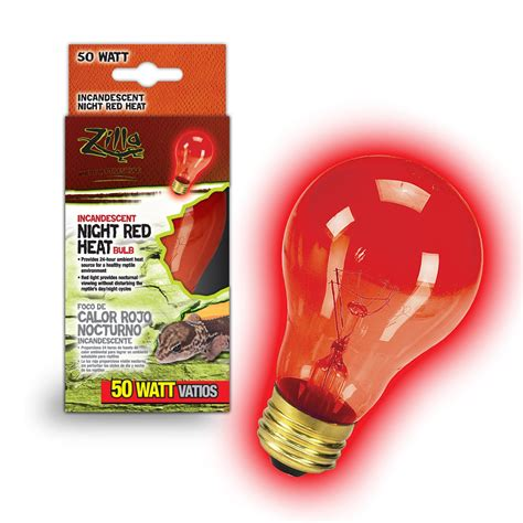 red heat l bulbs zilla night red heat incandescent 50 watts petco