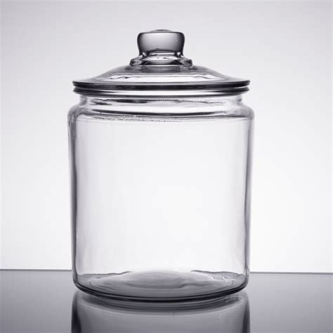 1 Gallon With Lid by Anchor Hocking 85545r 1 2 Gallon Glass Jar With Lid