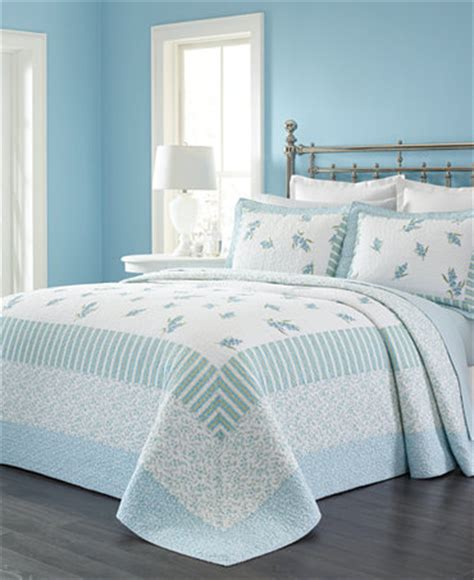 macy s martha stewart bedding martha stewart collection bellflower bedspreads only at