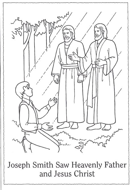 fathers day coloring pages lds heaven clipart joseph father jesus pencil and in color