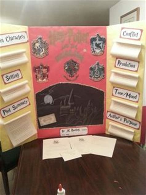 harry potter book report ideas harry potter reading fair board teaching