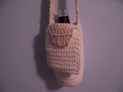 pattern holder crochet water bottle holder pattern free patterns
