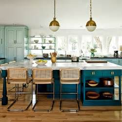 Two Colored Kitchen Cabinets Beautifully Colorful Painted Kitchen Cabinets