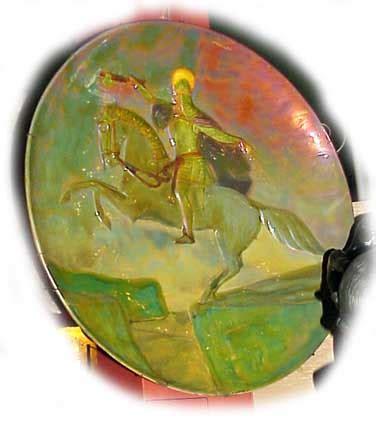 Shinny Rippel zsolnay nouveau secession antique pottery ceramic