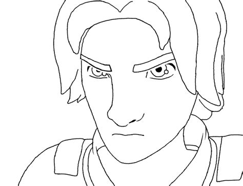 star wars ezra coloring page star wars rebels drawings