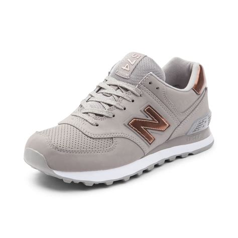 New Balance 574 Grey womens new balance 574 athletic shoe gray 401551