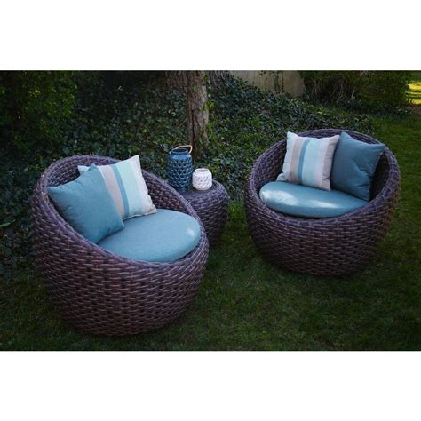 all weather wicker deep seating cushion outdoor recliner ae outdoor corona 3 piece all weather wicker patio deep