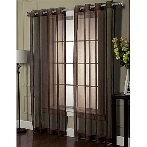 flame resistant curtains carter sheer flame retardant window curtain panel bed