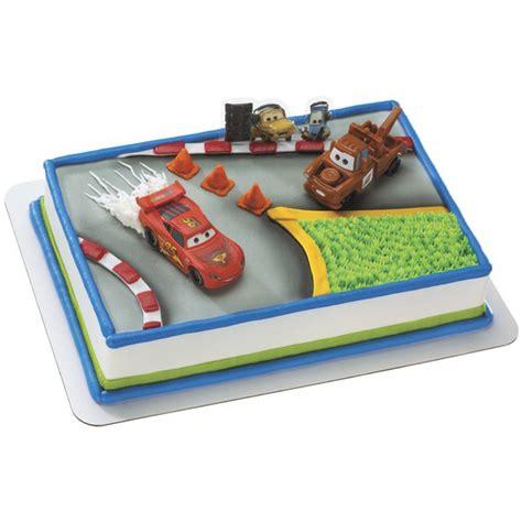 Cars Cake Decorating Kit by Decopac Cars 2 World Tour Cake Kit