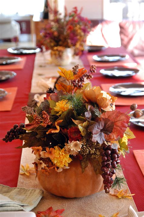 Thanksgiving Table Centerpieces The Best Diy Thanksgiving Table Decorations Times Guide To Holidays And