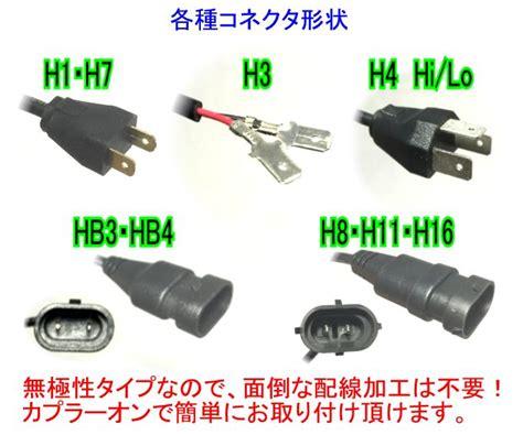 Led Eti Hb4 H7 H1 楽天市場 みねや eti led搭載 3600lm オールインワンタイプ ヘッドライト 6000k 3000k
