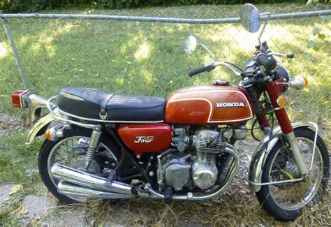 1973 honda cb350f 4 stroke 4 cylinder motorcycle