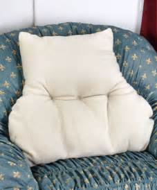 new faux armchair sheepskin back lumbar support pillow