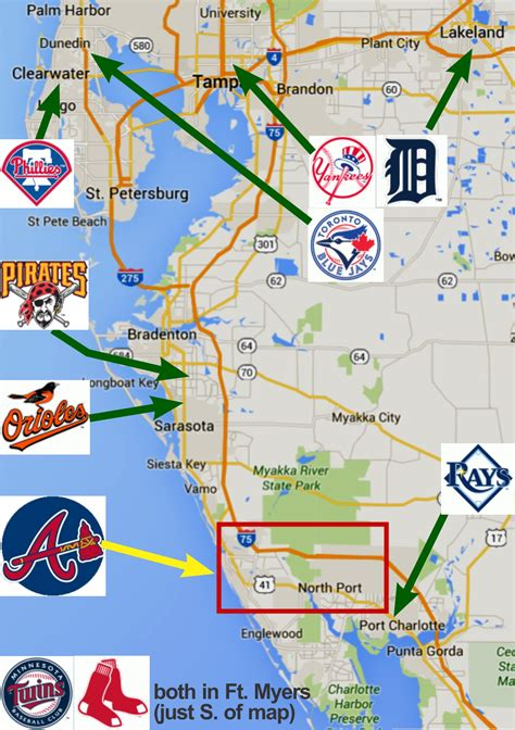 grapefruit league map braves finally look to an invite to a new home