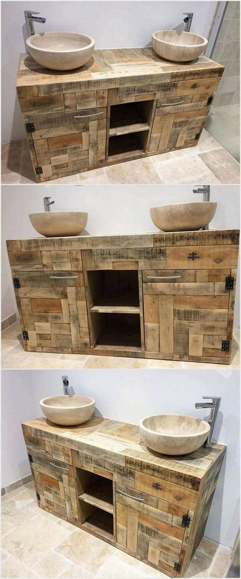 best 25 pallet bathroom ideas on rustic