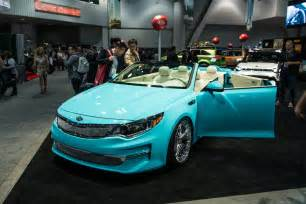 Kia Optima Convertible Convertible 2016 Kia Optima Concept Heads To Sema