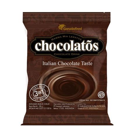 Gery Sereal Coklat Isi 10 Pcs jual garudafood chocolatos drink minuman coklat 1 renceng