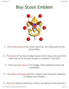 Badge Meaning 25 Best Ideas About Boy Scout Symbol On Boy