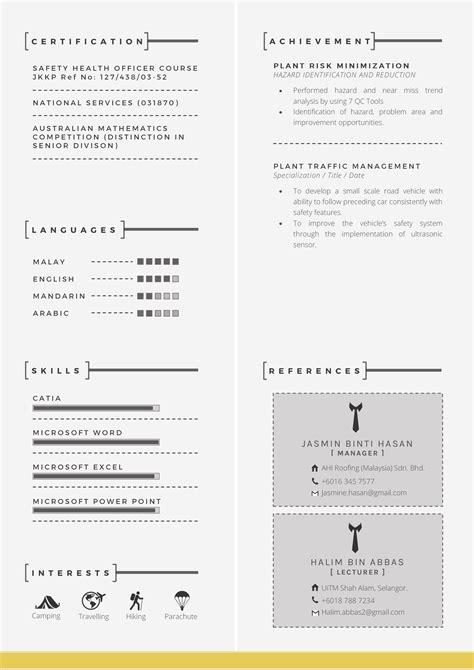 panduan membuat resume terbaik panduan lengkap menulis resume resume trendy