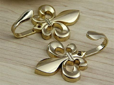 decorative hooks gold fleur de lis hook decorative hooks wall hooks metal