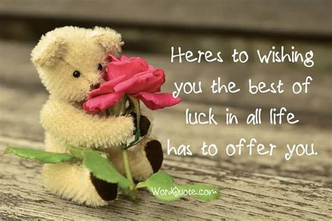 wishing the best 63 top luck quotes and sayings