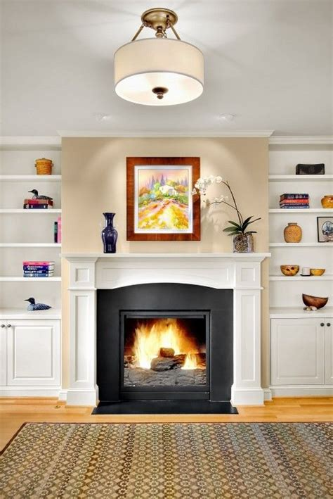 gas kamin surround 9 best bookshelves and fireplace images on