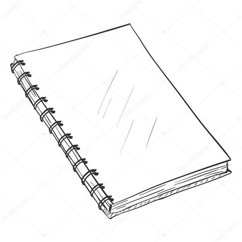Drawing Notebook by Sketch Spiral Notebook Stock Vector 169 Nikiteev 112941552