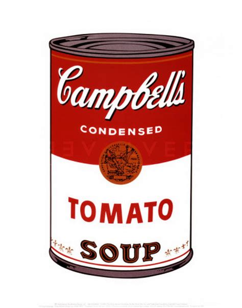 andy warhol soup cans cbell s soup i tomato soup 46 andy warhol