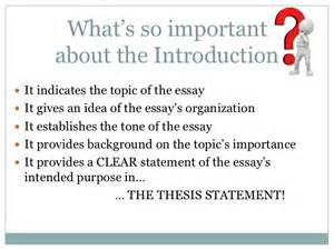parts of an essay introduction paragraph introductory