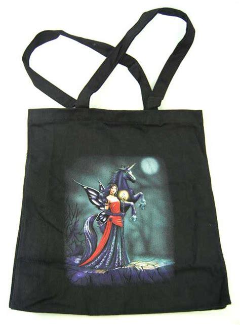 Just Trade Fair Trade Hippyshopper by Hippy Bag Tote Shopper Bag Pagan Hippy With Unicorn