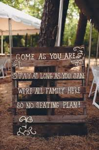 country rustic themed wedding signs for seating plan kitchen decorating ideas thelakehouseva
