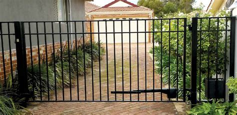 swing driveway gates single swing driveway gate set style leighton 3660mm 12