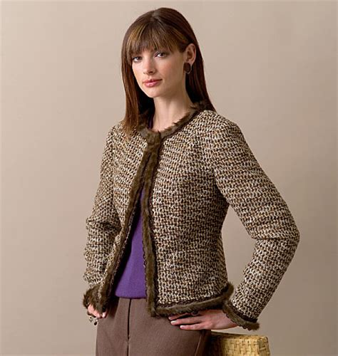 pattern review vogue 7975 v7975 misses misses petite jacket jackets vests