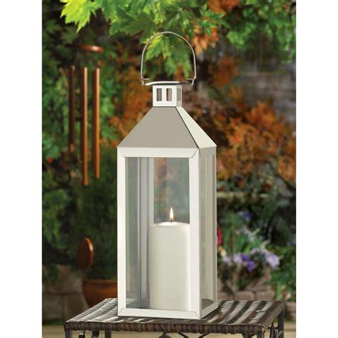 silver lanterns for wedding centerpieces 10 silver soho style candle lantern wedding centerpieces