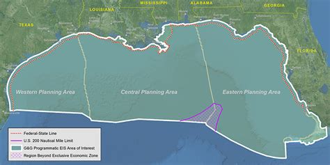 Gulf Of Mexico Continental Shelf by Feds Find Gas Seismic Surveys In Gulf Of Mexico Would