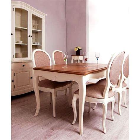 mesa de comedor extensible vintage paris decorando
