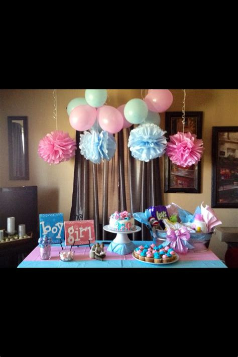 Baby Gender Reveal Decorations by Gender Reveal Baby Ideas