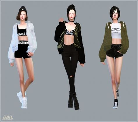 Home Decor Magazines sims4 marigold acc loosefit hood jacket sims 4 downloads